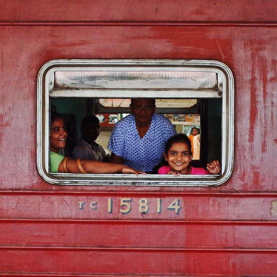 火車與加勒海岸線