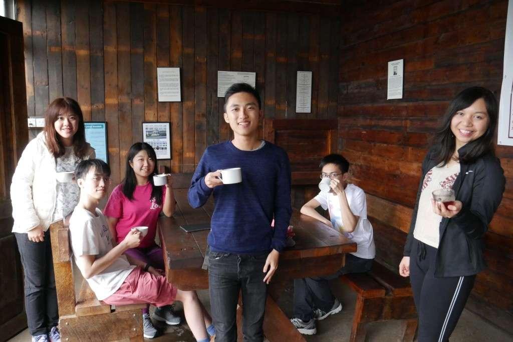 第二日──向高山茶園出發