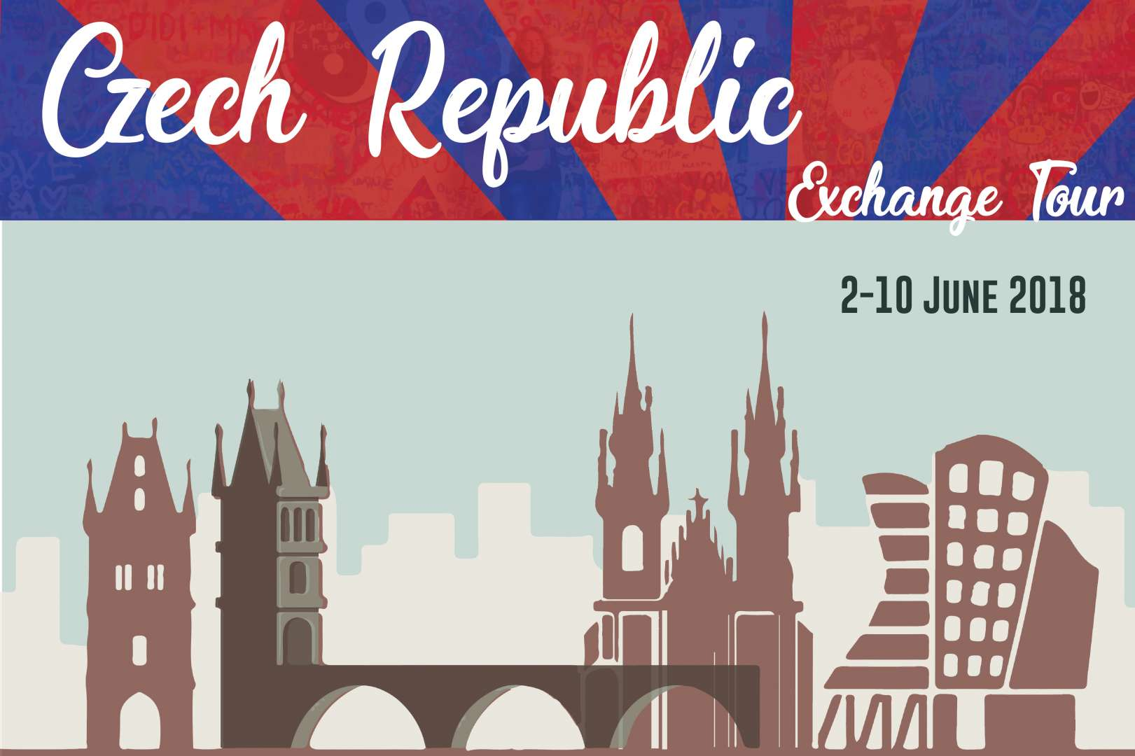 捷克新舊文化體驗之旅-Poster