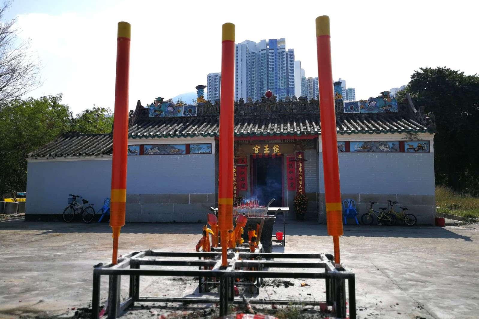 黃大仙區近九龍城的聯合道與東頭村道交界